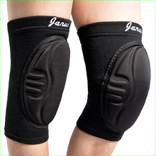 One Pair Thick Sponge Knee Pad Volleyball Dance Skating Climbing Shin Guard Protector for Sports Good Quality