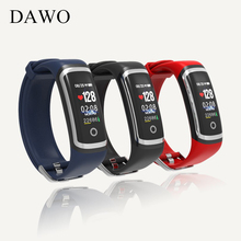 DAWO  Fitness Tracker M4 blood pressure Heart Rate Monitor  Sleep monitoring   Remote photography sports band for ios/Android