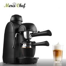 ITOP Бытовая кофеварка эспрессо кофемашина для молочный шарик Итальянский Эспрессо кофемашина 5 баров давление насоса