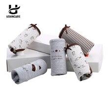 5 Pieces/lot Women Cotton Brief underwear Character Underwear Bow Mid-waist Panties  Breathable Ladies Girl