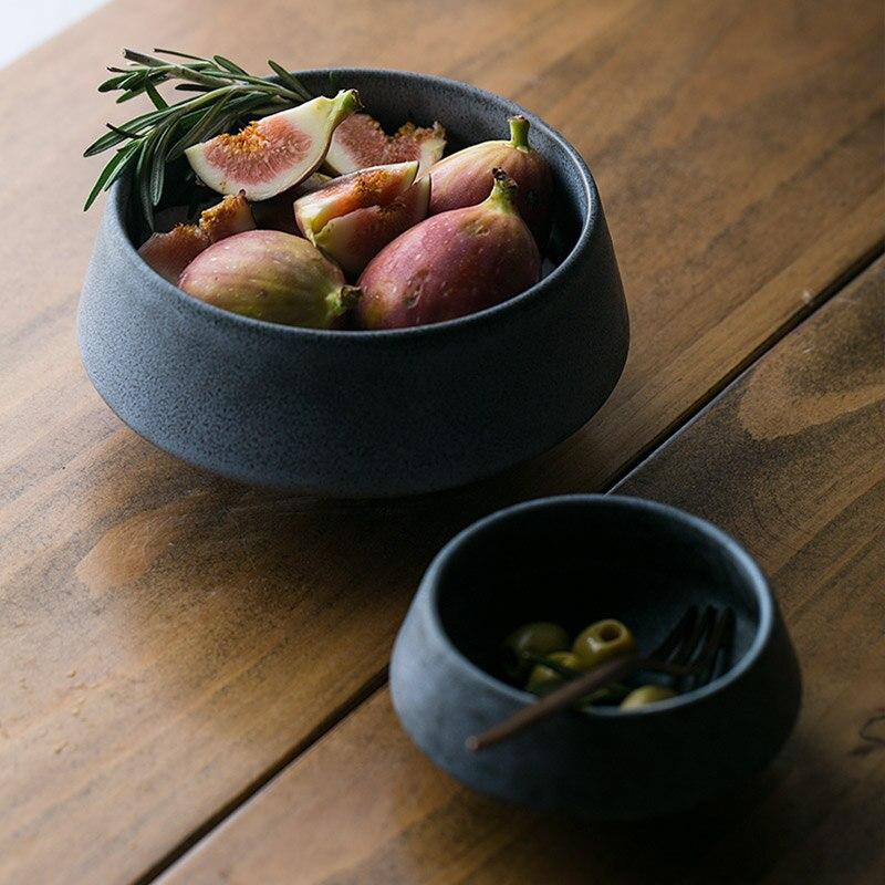 Creative Vintage Soup Desserts Tall Bowls Handmade Ceramic ...