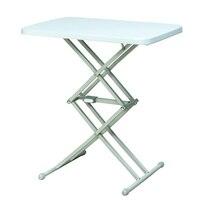 Пластик мини открытый складной походный стол телескопическая поднял обеденный стол простой Портативный мебель для барбекю и Кофе стол