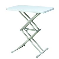 Plastic Mini Outdoor Folding Camping Table Telescopic Lifted Dining Table Simple Portable Outdoor Furniture BBQ and Coffee Desk