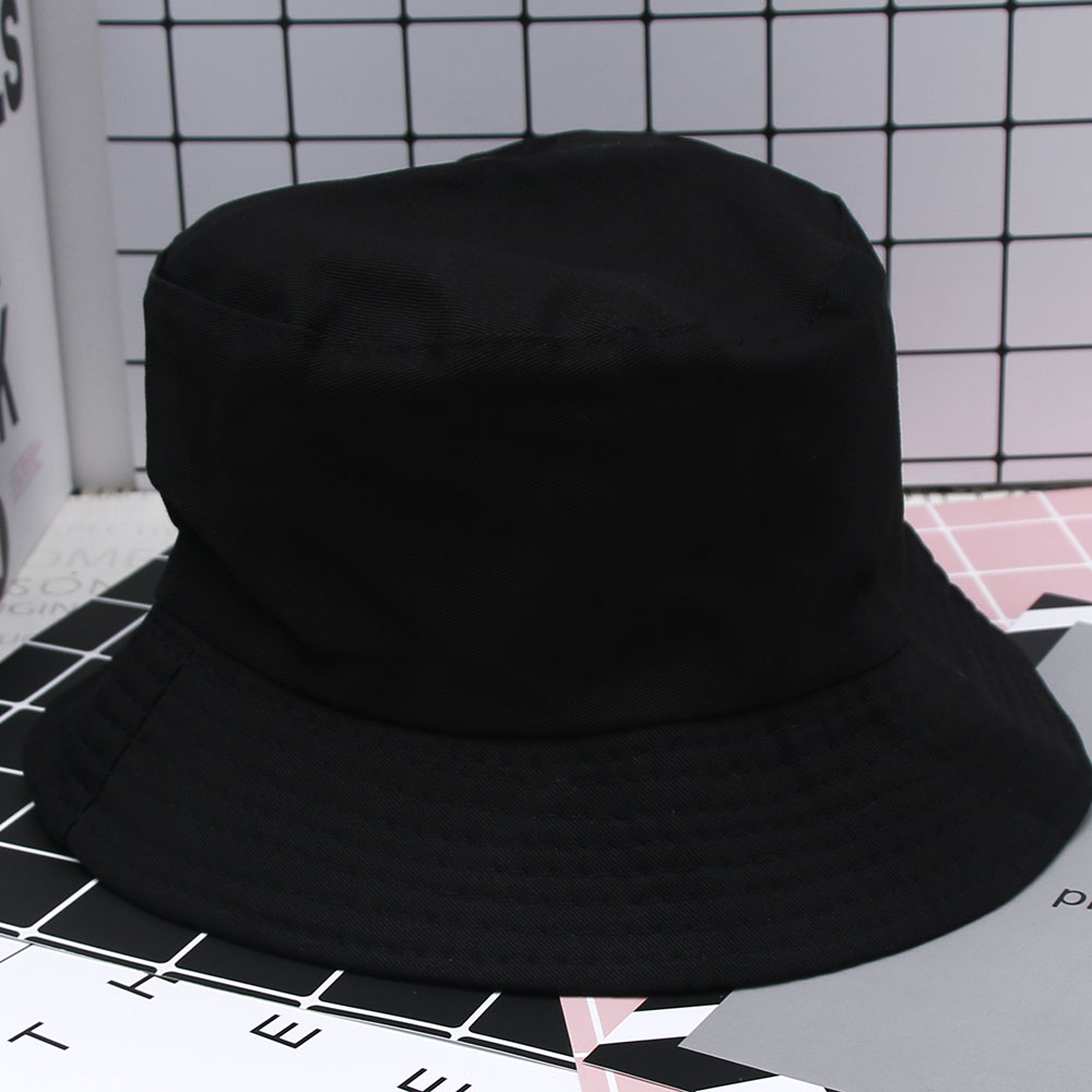 Boonie Flat Fishman Hat Summer KYC Vintage Black Bucket Hat Sad Boys Men  Women Hip Hop Fishing Cap Sprots Chapeau Panama Sunhat-in Bucket Hats from  Apparel ... 993d8db57a3