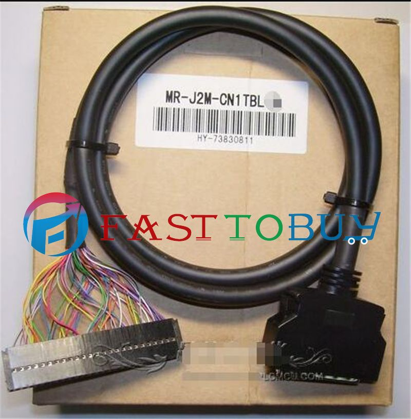 NEW MR-J2M-CN1TBL05M Compatible Mitsubishi 0.5M Servo Cable One Year Warranty mr j2m bu4