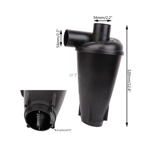 Image 5 - Cyclone Dust Collector Filter Turbocharged Cyclone Without Flange Base Set Tool newest L29k