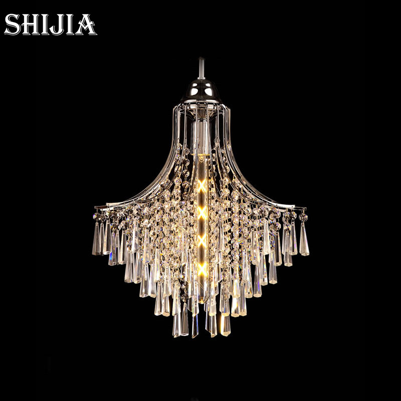 Modern LED Crystal Pendant Lights for Restaurant Bar Cafe Garment Shop Living room Bedroom Dining room Hotel Pendant Lamp a1 master bedroom living room lamp crystal pendant lights dining room lamp european style dual use fashion pendant lamps