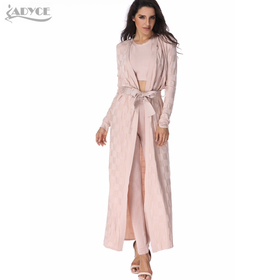 2019 new fashion women runway Coats apricot plaid Wide waisted Cardigan elegant lady robes Open Stitch Celebrity bandage cloak