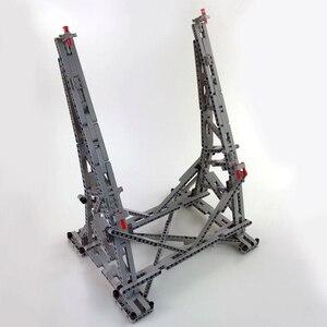 Image 5 - 407 個スターmoc戦争ミレニアムおもちゃファルコン垂直ディスプレイスタンドと互換性 05132 75192 究極のコレクターのモデル