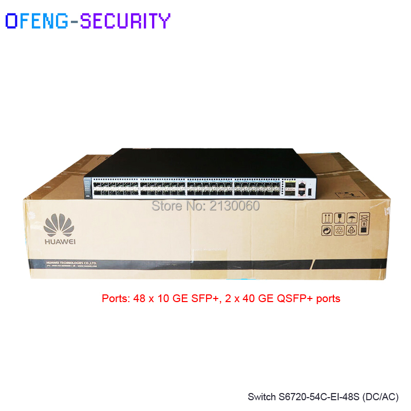 Huawei 48 Port Fiber Switch S6720-54C-EI-48S-AC/DC