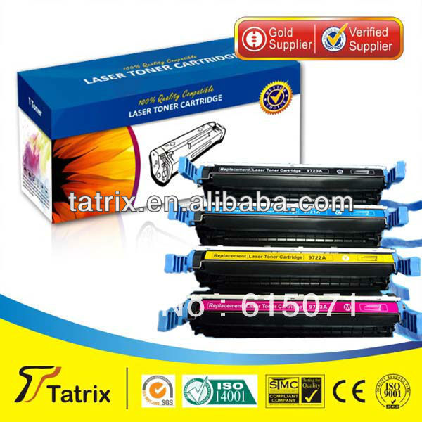 FREE DHL MAIL SHIPPING. Q9720A Toner Cartridge Triple Test Q9720A Toner Cartridge for HP toner Printer