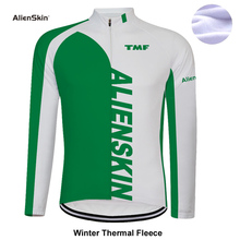 Cycling Jersey Winter Thermal Fleece Men Bicycle Long Sleeve Clothing Pro Team Outdoor Mountain Road Uniform Bike Triathlon 6572