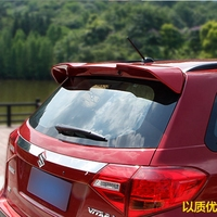 High Quality ABS Plastic Material Unpainted Primer Color Rear Boot Trunk Wing Spoiler Fit For Suzuki Vitara 2013 2017