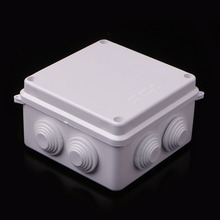 Waterproof Plastic Enclosure Case Power Junction Box IP65 100mm x 100mm x 70mm цена в Москве и Питере