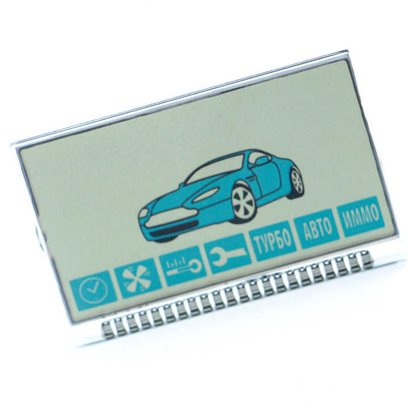 A91 LCD display Screen for Two way Car Alarm System Twage Starline A91 lcd remote controller Keychain key chain fob