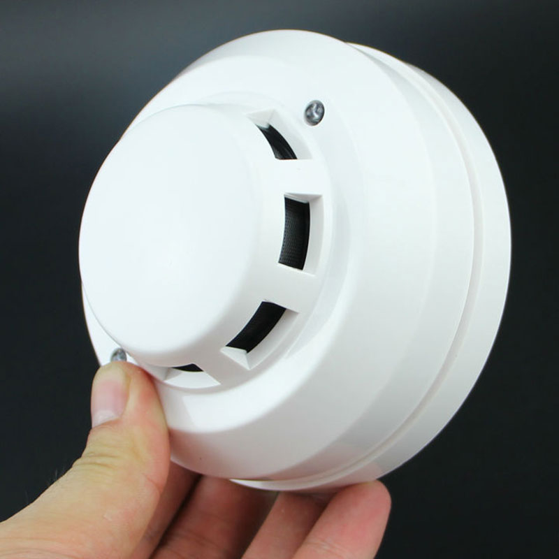 Wired Networking Sensor Smoke Detector For Sale/Optical Host Components Smoke Detector Alarm For Gsm Alarm System  HSJ-19