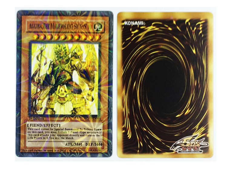 288pcs/set Anime Japan Yu Gi Oh Game Cards Carton Yugioh Game Cards Japan Boy Girls Yu-Gi-Oh Cards Collection For Fun image