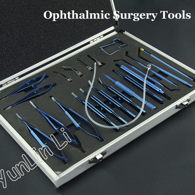 Ophthalmic Surgical Instruments Set Titanium Cataract Eye