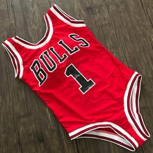 Water Princess Bikini 2017 Beyonce BULLS Swimsuit Letter Women Red Deeo-V Solid Swimwear Sexy Bathing Beachwear Biquini Female