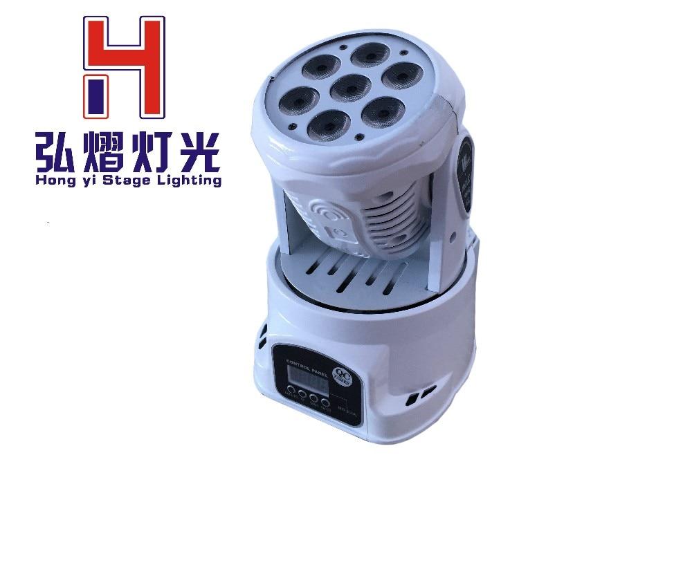 china moving heads led spot dmx led wash 7*12w rgbw dj lights quad DMX 14 channels fast shipping