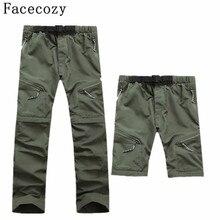 Мужские быстросохнущие штаны, съемные штаны для походов и кемпинга, мужские летние дышащие брюки для рыбалки, скалолазания, треккинговые шорты
