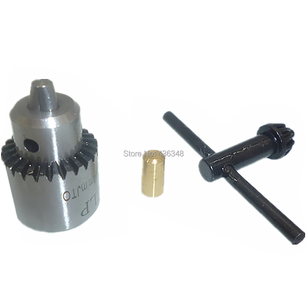0 3mm 4mm Capacity Mount Electric Key Power Drill Chuck