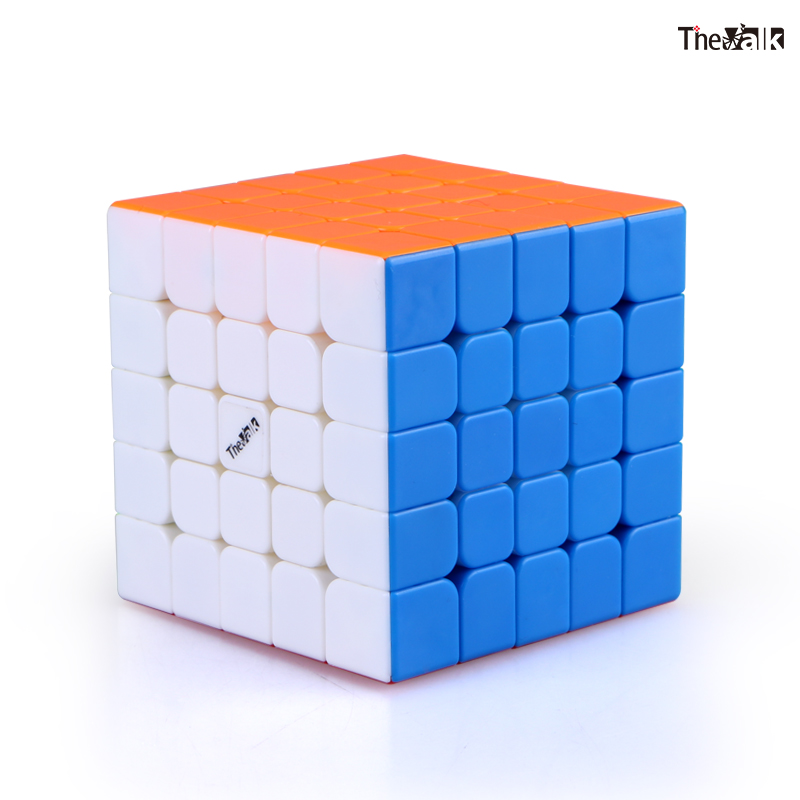 Qiyi The Valk 5M 5x5x5 Magnetic Magic Speed Cube Valk5 M Professional Stickerless Magnets Puzzle Cube