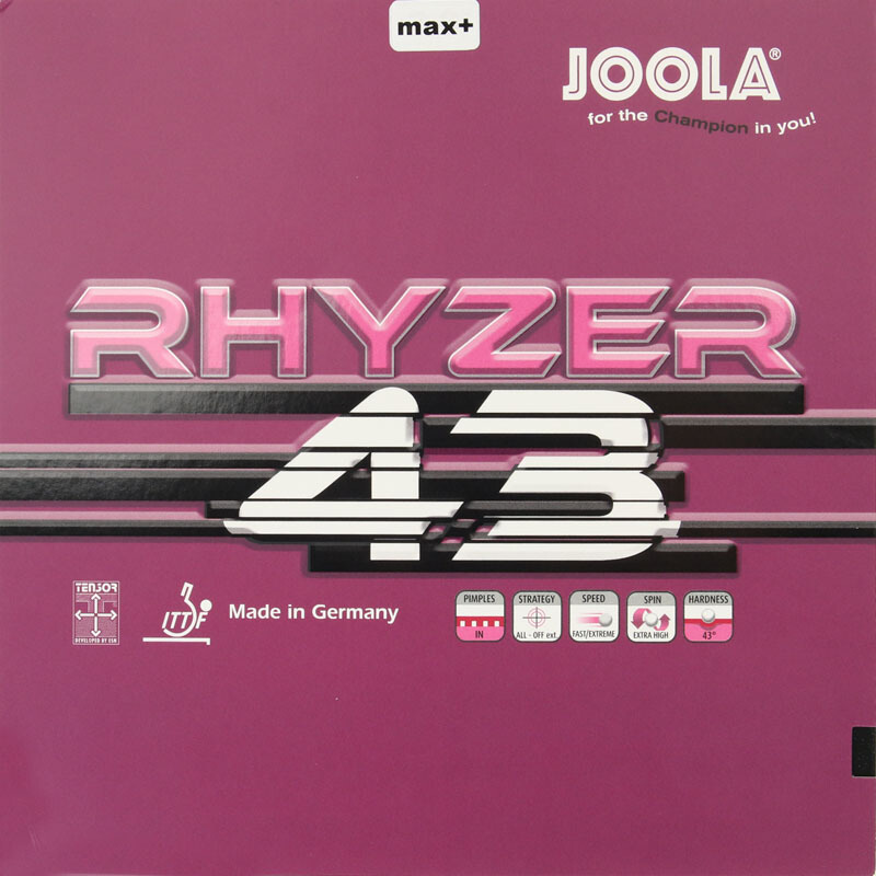 Joola RHYZER 43 / 48 (2018 NEW) Table Tennis Rubber Pips-in Ping Pong Sponge Tenis De Mesa
