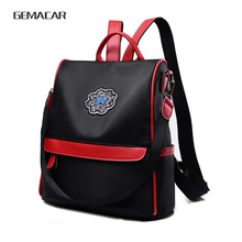 цены trend new Backpack Purse for Women Waterproof  Rucksack Oxford Cloth School Shoulder Bag Casual Travel Daypack butterfly Diamond