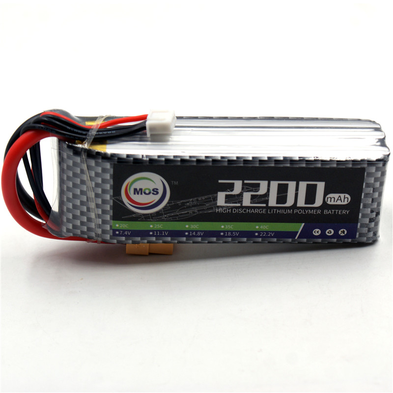 MOS RC Airplane LiPo Battery 3S 11.1V 2200mAh 40C-80C Li-Po Batteries for FPV RC Helicopter Car Drone Free Shipping mos 2s rc lipo battery 7 4v 2600mah 40c max 80c for rc airplane drone car batteria lithium akku free shipping
