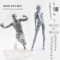 Body Action Figure 2 Reference Dolls for Drawing PVC Models Kids Toys Action Toy Figures Collectible Gift Toy Anime Girls Boys