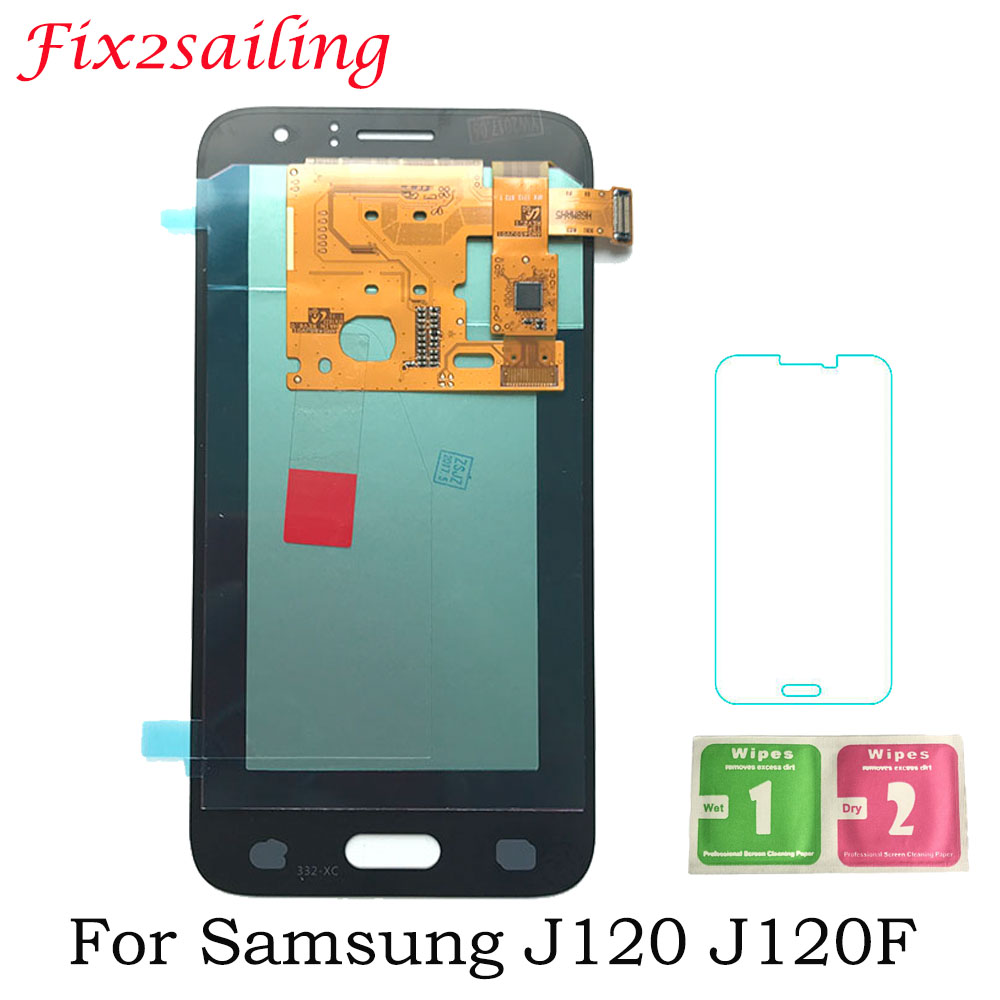 Super Display Screen Für Samsung Galaxy J1 <font><b>J120F</b></font> J120DS J120G J120M J120H J120 <font><b>Amoled</b></font> <font><b>LCD</b></font> Display mit Touch Screen Digitizer image