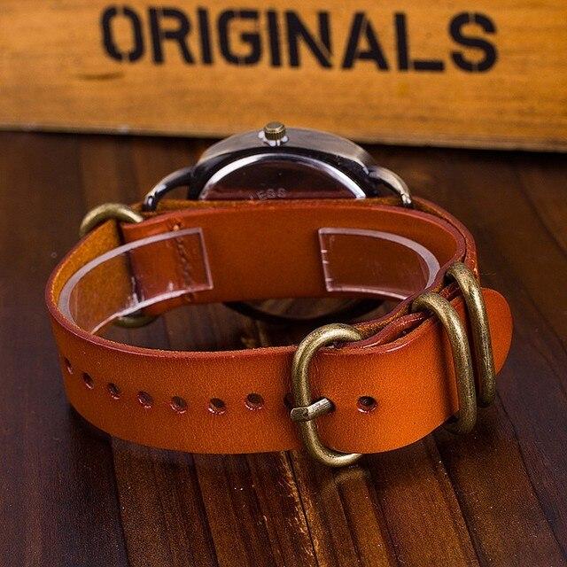 CCQ Brand Watch Vintage Cow Leather Bracelet Watch Casual Fashion Female Quartz Watch Ladies Clock Relogio Feminino