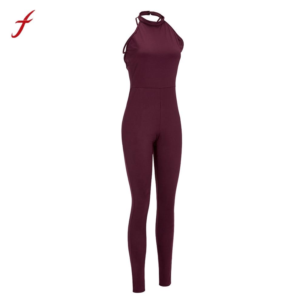 Sexy Fashion Women Romper Bodycon Summer Jumpsuit Slim Clubwear Backless Slim Solid Bodysuit For Beach Club Evening Party Hot