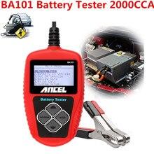 220AH 2000CCA BA101 Coche 12 V Batería Tester Analizador de Baterías De 12 V Batería Del Automóvil Arranque De Carga MAL Prueba de Células herramienta