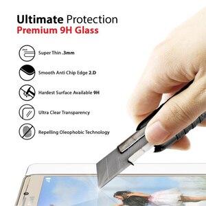 Image 2 - 2 個強化ガラス Huawei 社の名誉 7 スクリーンプロテクターフィルム 9 H 2.5D 強化ガラス Huawei 社の名誉 7 honor7 PLK L01 PLK AL10
