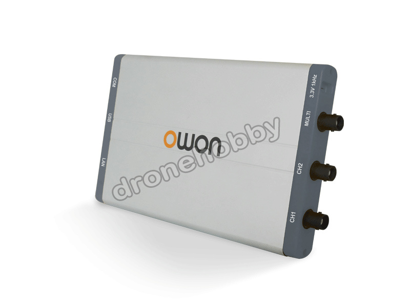 Freeshipping TD Owon VDS 1022 virtual dual-channel oscilloscope bandwidth of 100MS/S 25Mhz USB isolation 1G sample rate цена и фото