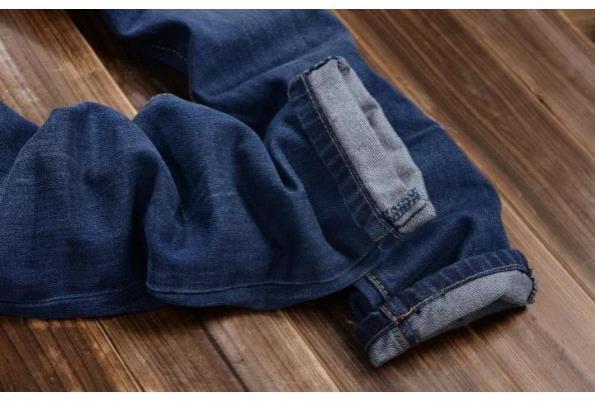 c276c52da4a8 Spring Fall Preppy Style Fashion Casual Mens Slim Blue Denim Bib Pants