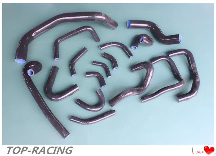 reinforced silicone radiator heater hose for Nissan Skyline GT R GTR R33 RB26DETT RB26 1995 1998