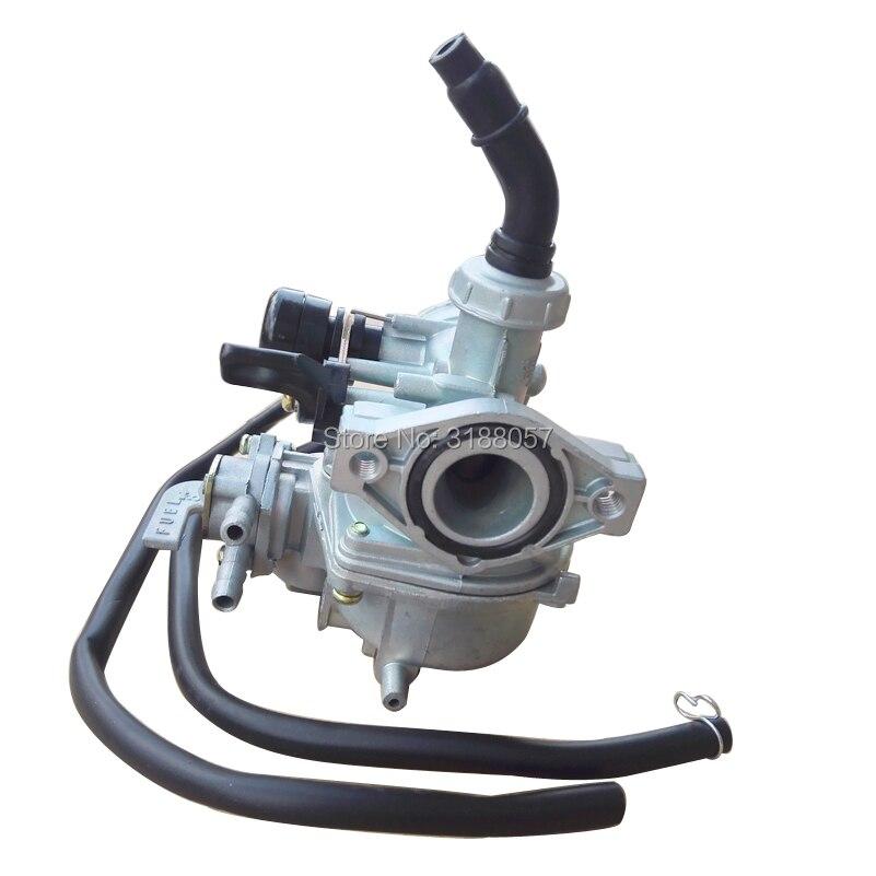 pz19 carburetor carb 19mm manuel choke with dual fuel line. Black Bedroom Furniture Sets. Home Design Ideas
