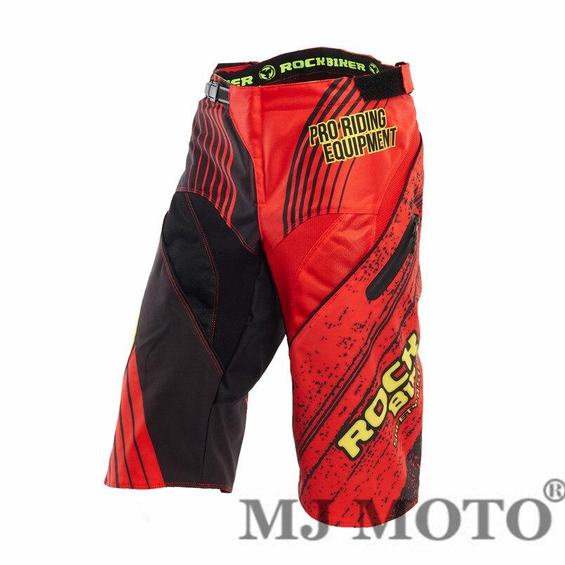 Hot sale Rock biker Motocross racing pants balck men downhill shorts pantalon moto motocross motorsiklet mx pants motorrad cloth