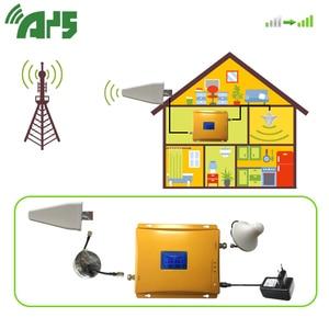 Image 2 - 2g 3g 4g wzmacniacz sygnału komórkowego Tir Band 900 1800 2100 mhz wzmacniacz sygnału komórkowego z wyświetlaczem LCD