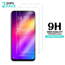 2 Pcs Tempered Glass For Meizu Note 9 Screen Protector 2.5D 9H Premium Protective Film