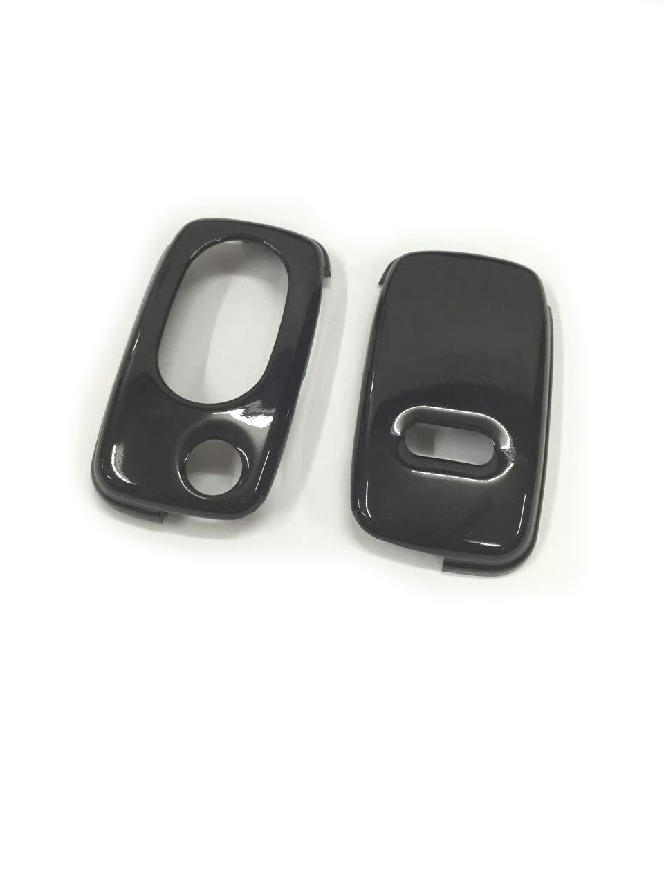 Gloss Black Color Flip <font><b>Key</b></font> <font><b>Remote</b></font> <font><b>Key</b></font> Protection Case For <font><b>Audi</b></font> A3 8L A4 B5 B6 TT MK1 <font><b>A6</b></font> <font><b>C5</b></font> image