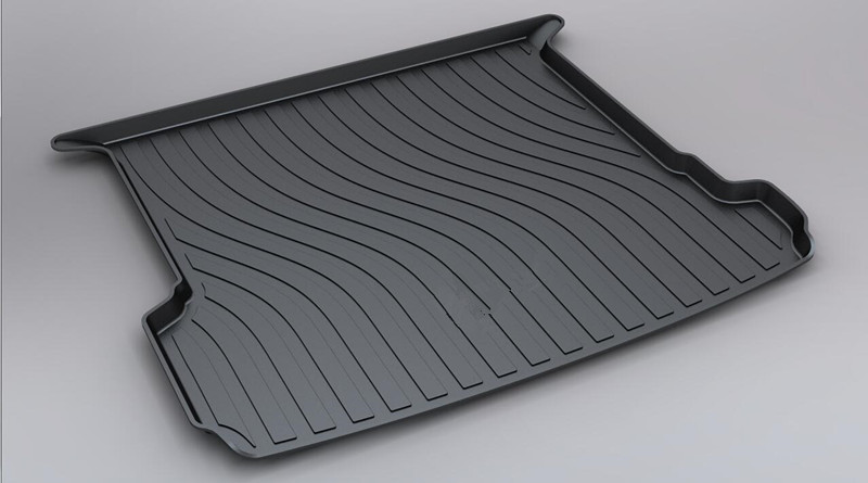 For Audi Q7 2015 2016 2017 Custom Fit TPO Car Cargo Rear Trunk Mat Boot Liner Tray All Weather Waterproof fit for ford mondeo focus explorer edge taurus kuga escort ecosport boot liner rear trunk cargo mat floor tray carpet