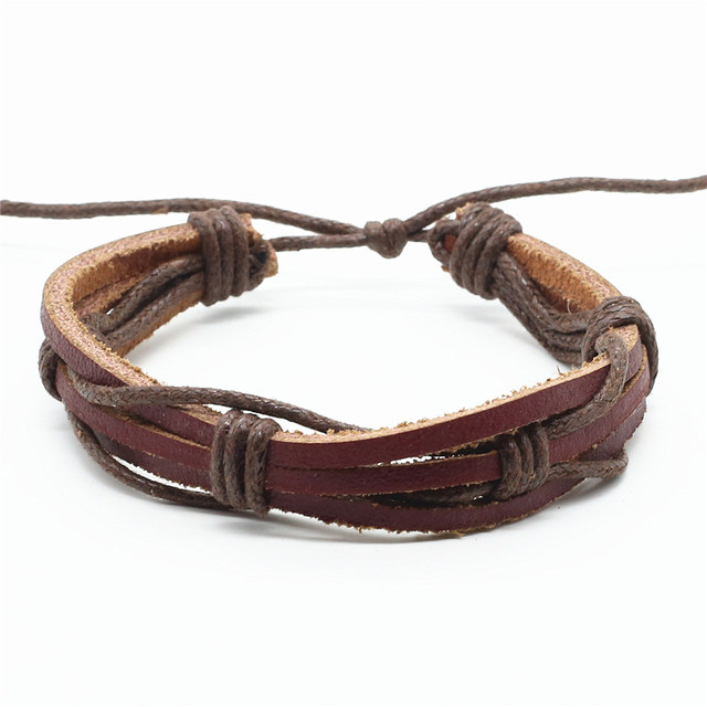 Casual Brown Multilayer...