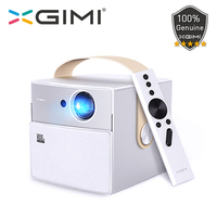 XGIMI CC Aurora Mini Portable DLP Projector 720P Home Theater Android Wifi Bluetooth 3D Support 4K HD Video 16GB LED Projectors