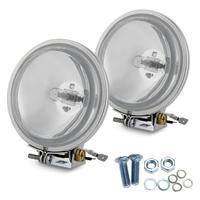 2 יחידות CARCHET 100 W זרקור אור ספוט מנורת הלוגן H3 לבן חם 4300 K מתאים מכוניות 4WD off-כלי רכב כביש