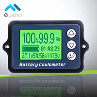 80V 50A TK15 Coulomb Meter Battery Capacity Indicator Coulometer Power Level Display Lithium Iron Phosphate Tester