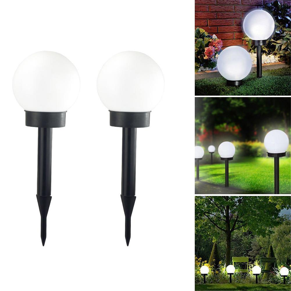 2pcs Waterproof Led Solar Power Outdoor Garden Path Light Yard Lawn Road Lamp Hot Sale 50-70% OFF